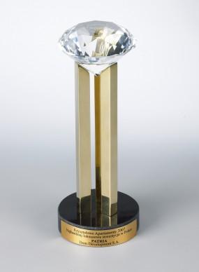 Nagroda KRYSZTAŁOWY DEVELOPER - KRYSZTAŁOWY APARTAMENT PATRIA 2007