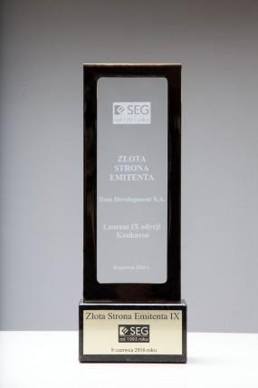 Nagroda Złota Strona Emitenta