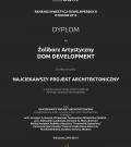 Nagroda DYPLOM dla Żoliborz Artystyczny za Najciekawszy Projekt Architektoniczny