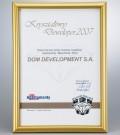 Nagroda KRYSZTAŁOWY DEWELOPER 2007